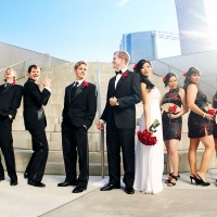 Walt Disney Concert Hall Los Angeles Wedding Photography
